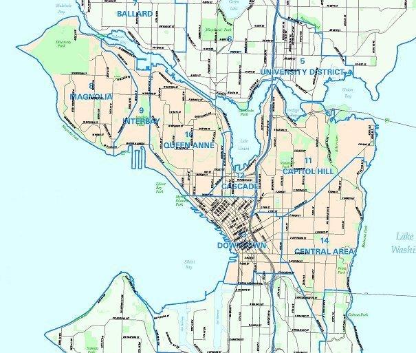 seattle zip code map pdf